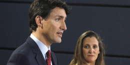 Justin Trudeau, le 31 mai 2018.
