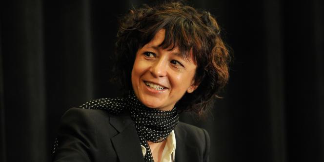 La biochimiste Emmanuelle Charpentier, en 2014.