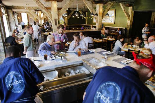 Le restaurant Pêche, à La Nouvelle-Orléans.
