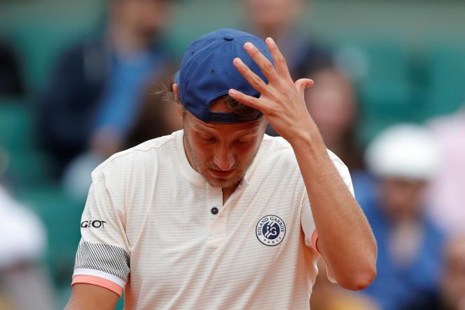 Comme l'an passé, Lucas Pouille n'est toujours pas parvenu à dépasser le 3e tour à Roland-Garros.