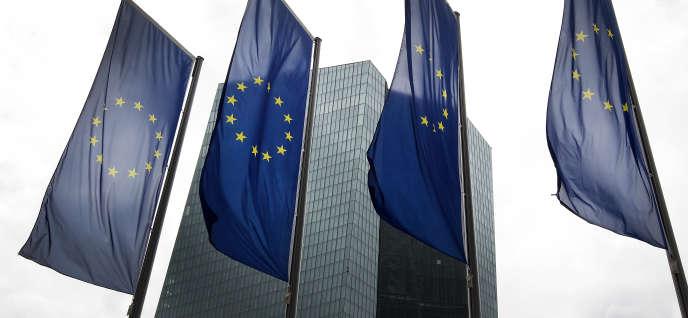 Le siège de la Banque centrale européenne à Francfort-sur-le-Main, en Allemagne, le 1er juin 2018.
