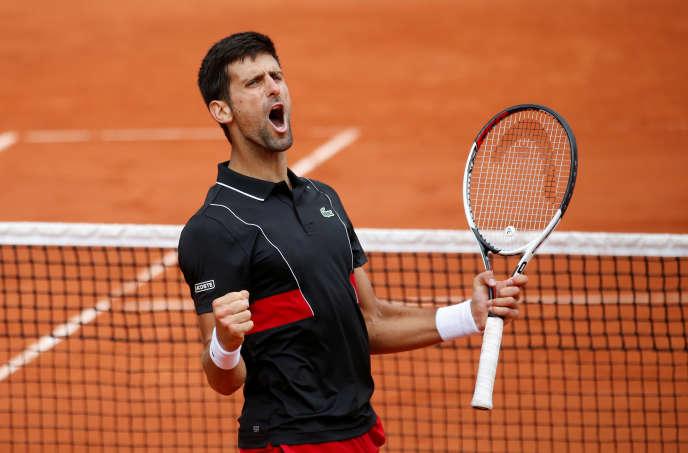 Après sa qualification pour les huitièmes de finale, le 1er juin sur le Lenglen.
