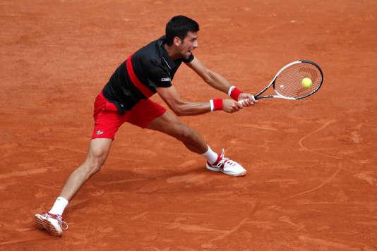 Novak Djokovic affronte Fernando Verdasco.