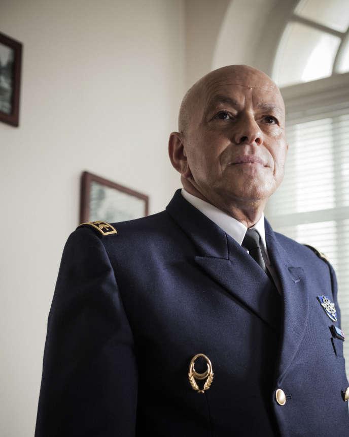 L'aumônier en chef du culte musulman dans les armées, Abdelkader Arbi, au fort de Vincennes, le 31 mai.