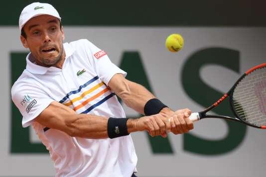 Roberto Bautista-Agut a affronté Novak Djokovic, vendredi.