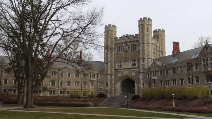 Blair Hall, un des bâtiments du Mathey College sur le campus de Princeton.