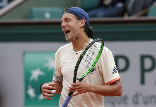 Lucas Pouille et ses compatriotes ont tous été éliminés en première semaine à Roland-Garros.