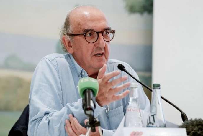 Jaume Roures, le président catalan de Mediapro, le 31 mai 2018, à Paris.