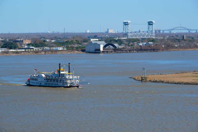 Le fleuve Mississipi.