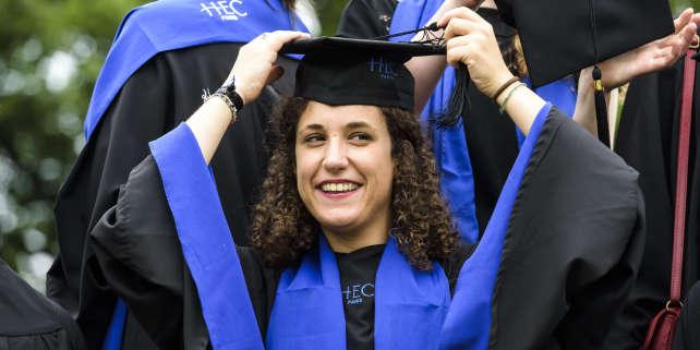 Cérémonie de remise des diplômes à HEC, en 2016