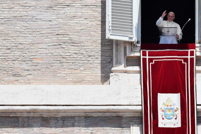 Le pape François, au Vatican, le 3 juin.