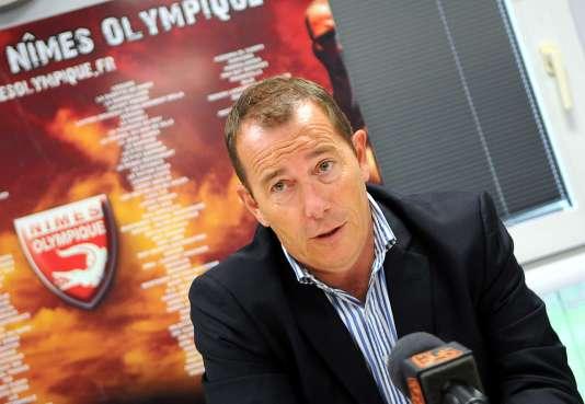 L'ancien président du Nîmes olympique, Jean-Marc Conrad, le 7 juillet 2014.