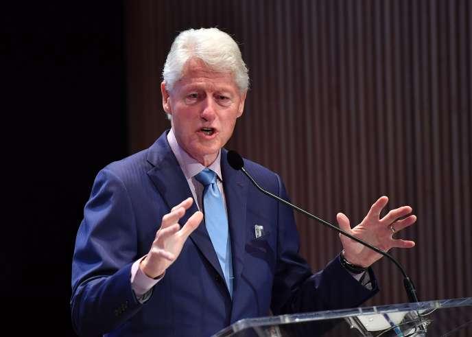 L'ancien président des Etats-Unis, Bill Clinton, à New York le 9 mai.