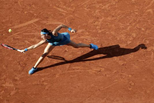 La Française Caroline Garcia contre la Roumaine Irina-Camelia Begu le 2 juin 2018.