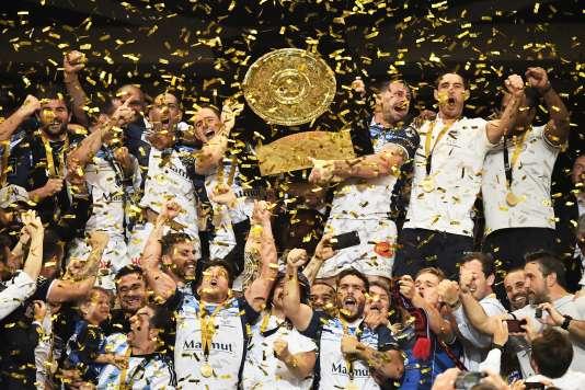 La finale du Top 14 entre Montpellier et Castres au Stade de France à Saint-Denis, le 2 juin 2018.