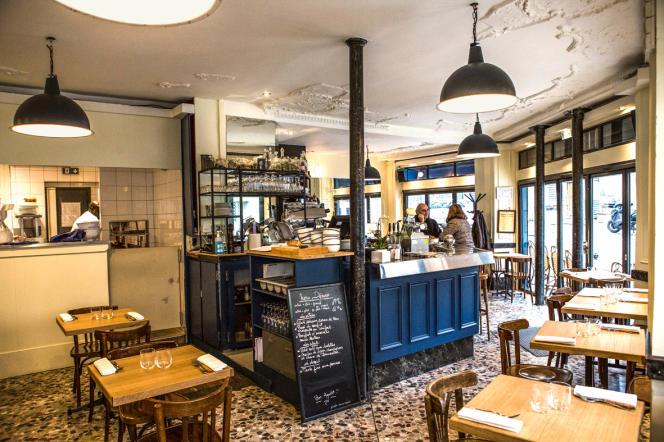 Le restaurant Cadoret à deux pas des Buttes-Chaumont, Paris 19e.