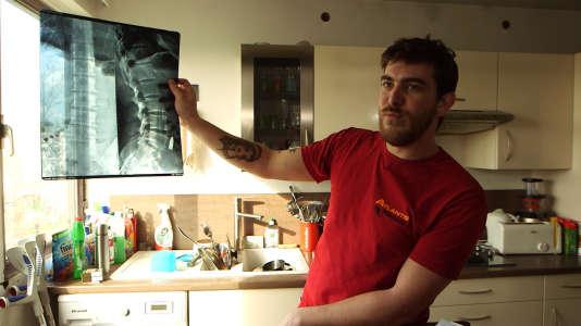 Jean-Camille a pris une balle dans le dos lors de l'attaque terroriste du Bataclan, le 13 novembre 2015.