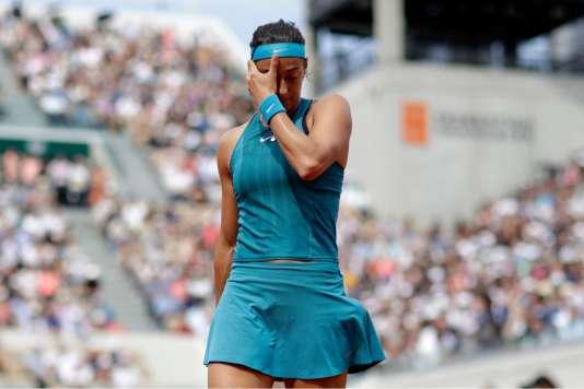 Handicapée par de nombreuses fautes directes, Caroline Garcia n'a rien pu faire face à Angelique Kerber.