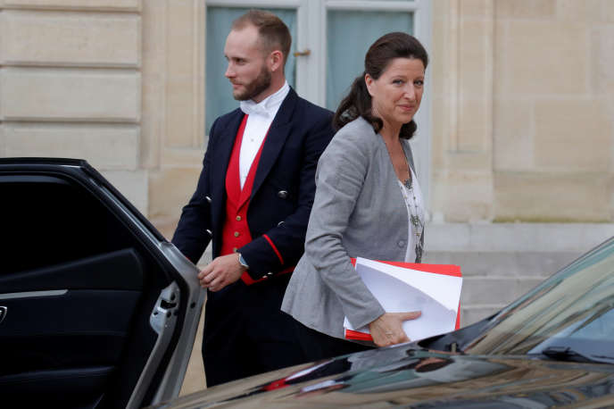 La ministre des solidarités et de la santé, Agnès Buzyn, le 4 juin à l'Elysée.