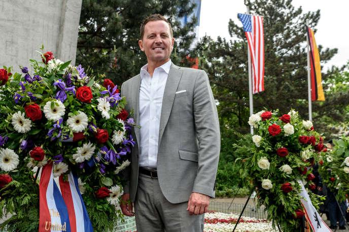 L'ambassadeur des Etats-Unis en Allemagne, Richard Grenell, le 12 mai, à Berlin.