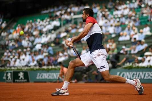 Face à Fabio Fognini, Marin Cilic a remporté son deuxième huitième de finale à Roland-Garros.