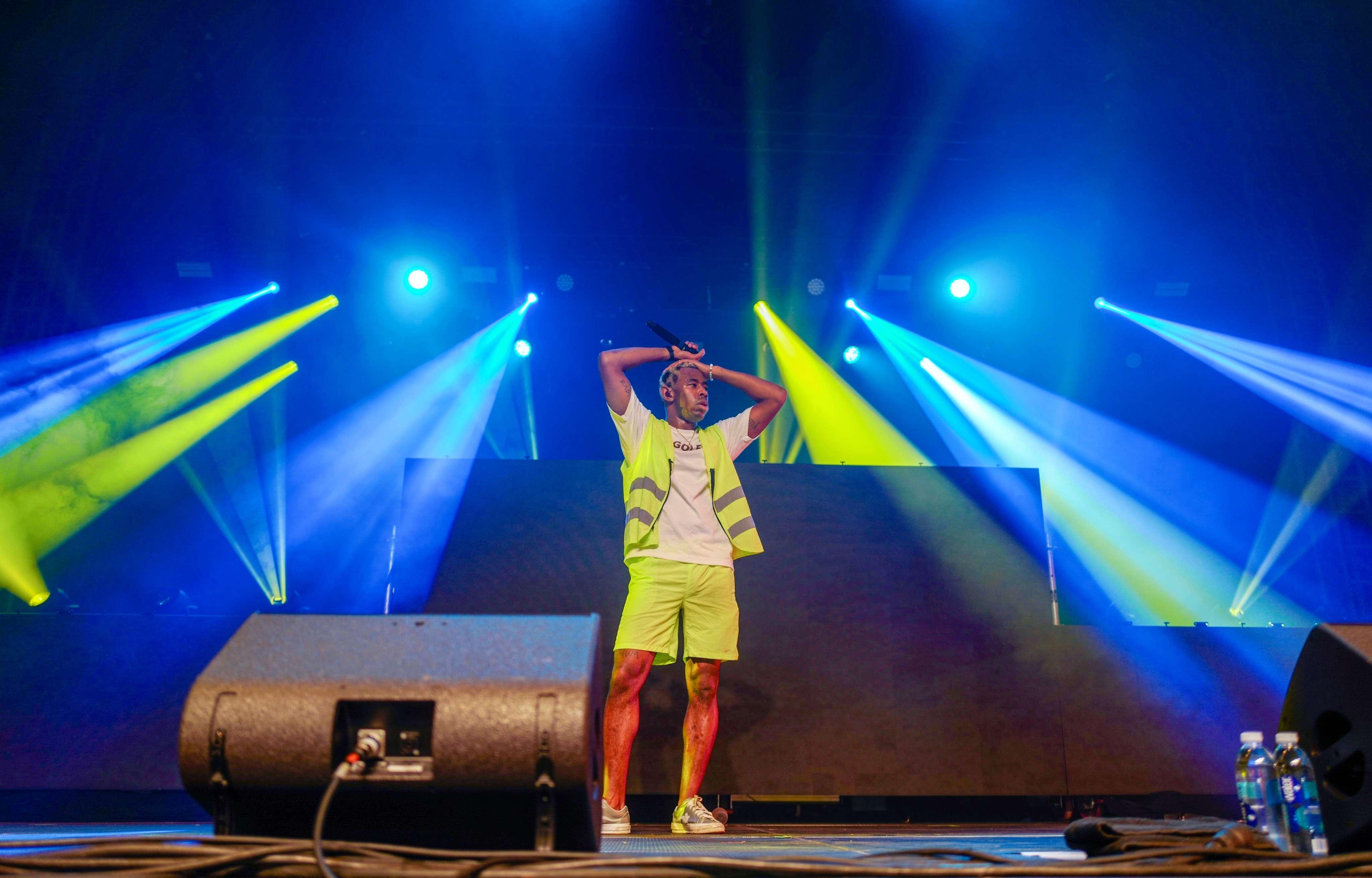 Pour clôturer ces deux jours de festival, le rappeur californien de 27ans Tyler The Creator a signé une très puissante version live de son dernier opus «Flower Boy».