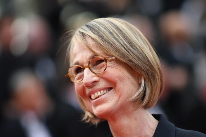 La ministre de la culture, Françoise Nyssen, le 8 mai, au Festival de Cannes.