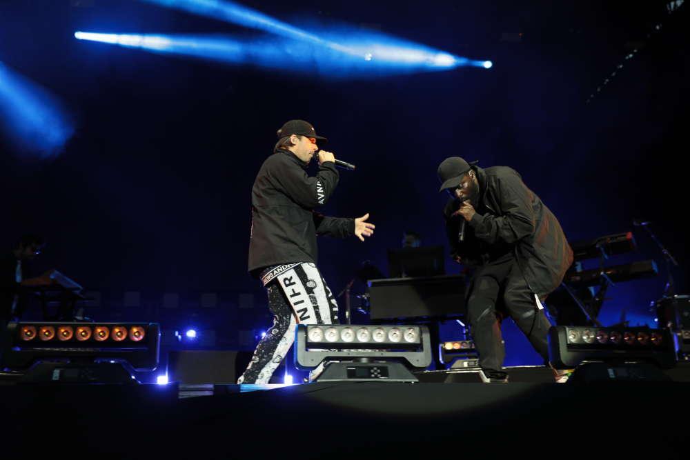 Véritable star du rap français, Orelsan a entamé avec brio,samedi, à We Love Green,le premier concert de sa longue série des festivals d'été.
