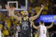 Stephen Curry et Golden State ont fait le break face à Cleveland.