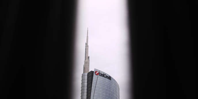 La tour Unicredit à Milan, en novembre 2017.
