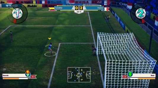 Ne cherchez pas le ballon : il est coincé en tribunes et ne redescendra pas, pas plus que l'arbitre ne sifflera de six-mètres. Une seule solution : attendre la fin du match en se tournant les pouces.
