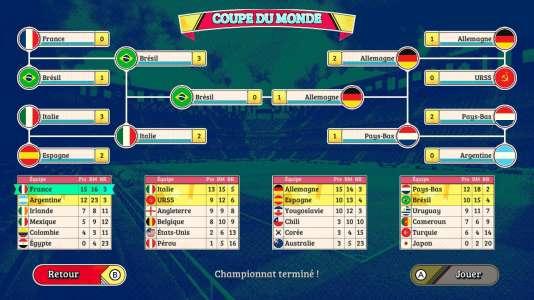 Et à la fin, c'est l'Allemagne qui gagne.