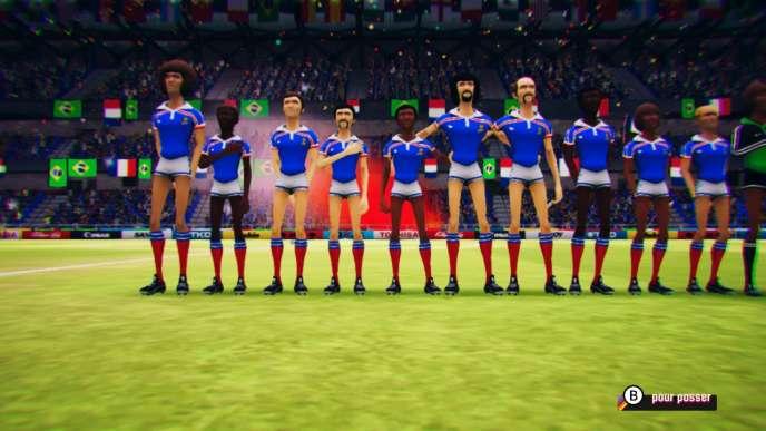 Michel, Marius, Maxime, Didier et les autres, dignes représentants d'une équipe de France aux forts accents des années 1980.