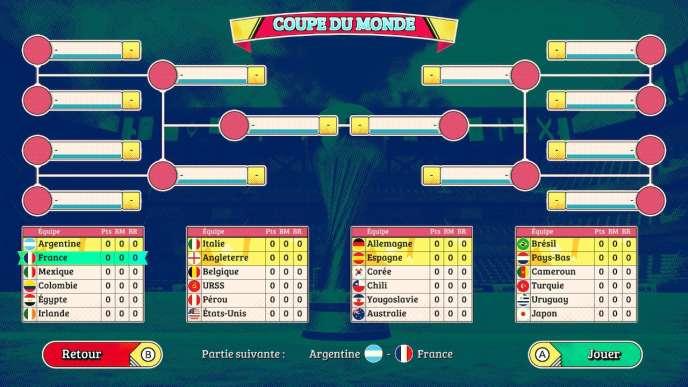 Format à l'ancienne, avec ces quatre groupes de six, pour huit places en quart de finale. Le tirage au sort nous opposeà l'Argentine, l'Egypte, l'Irlande, la Colombie et le Mexique.