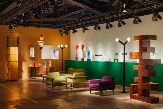 La galerie Friedman Benda à la Design Miami à Bâle en 2017.