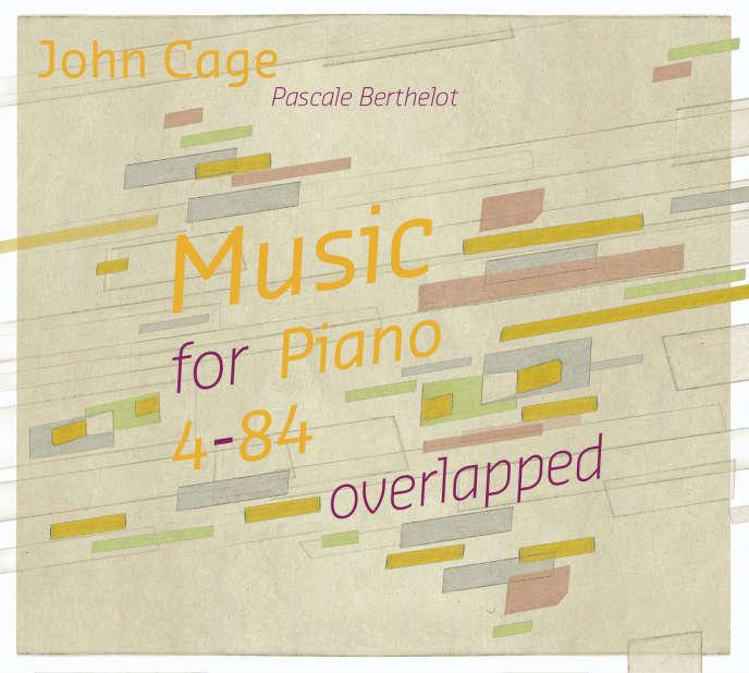Pochette de l'album«Music for Piano 4-84 overlapped» consacré à John Cage, par la pianistePascale Berthelot.