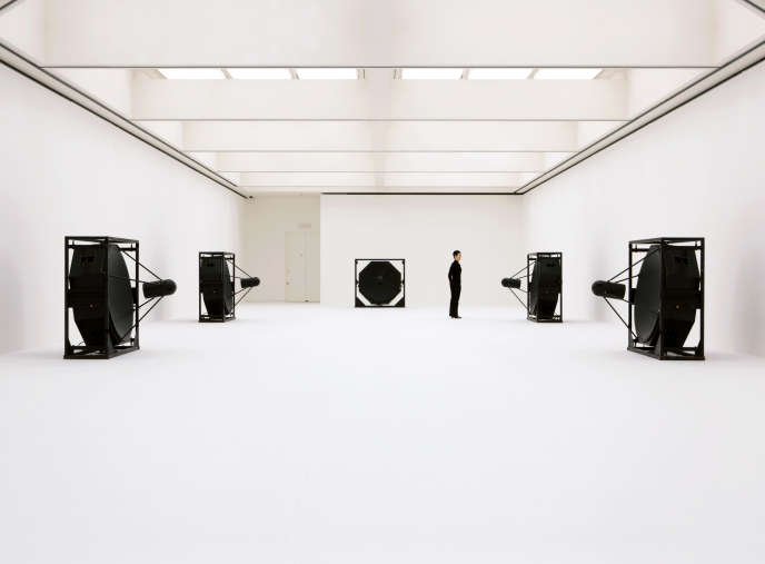 L'installation «Matrix [5ch version]», 2009.