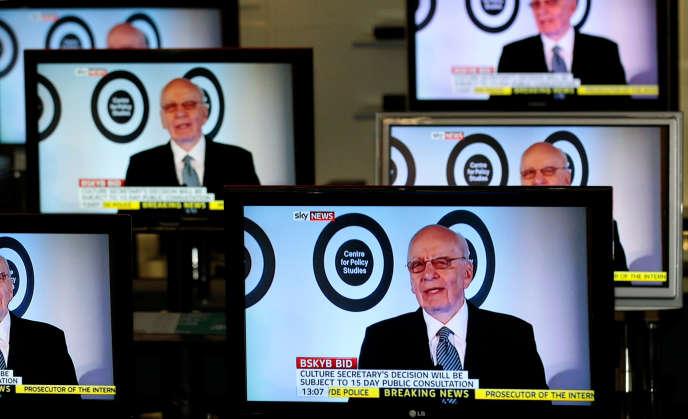 Rupert Murdoch, sur Sky News, le 3 mars 2011.