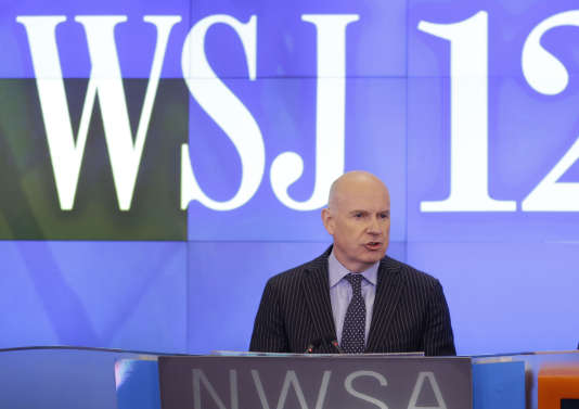 En juillet 2014, Gerard Baker, le directeur de la rédaction du «Wall Street Journal».