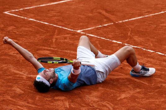 Marco Cecchinato a éliminé Novak Djokovic.