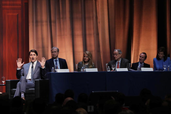 Justin Trudeau à New York, le 17 mai.