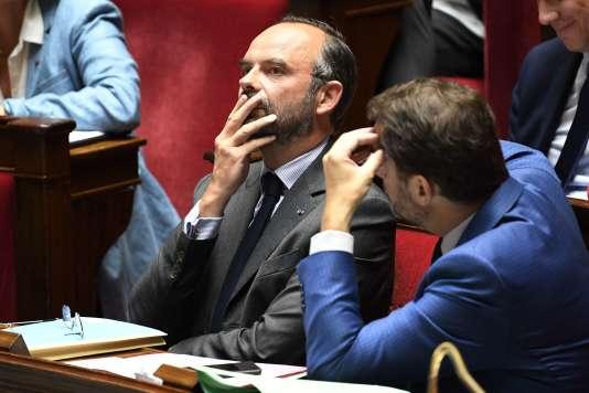Edouard Philippe lors des questions au gouvernement, à l'Assemblée nationale,le 5juin.