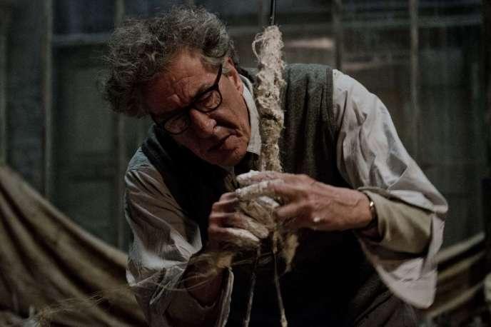 Geoffrey Rush dans« Alberto Giacometti, The Final Portrait», de Stanley Tucci.