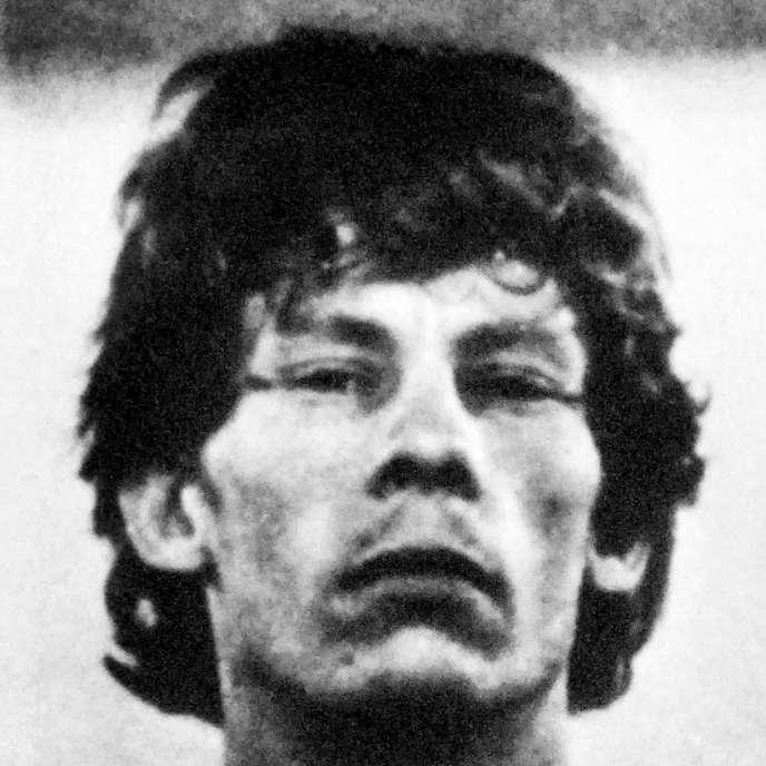 Gilles Bertin en 1988.