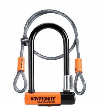 Le meilleur antivol de vélo Kryptonite New-U Evolution Mini-7 avec câble à double boucle
