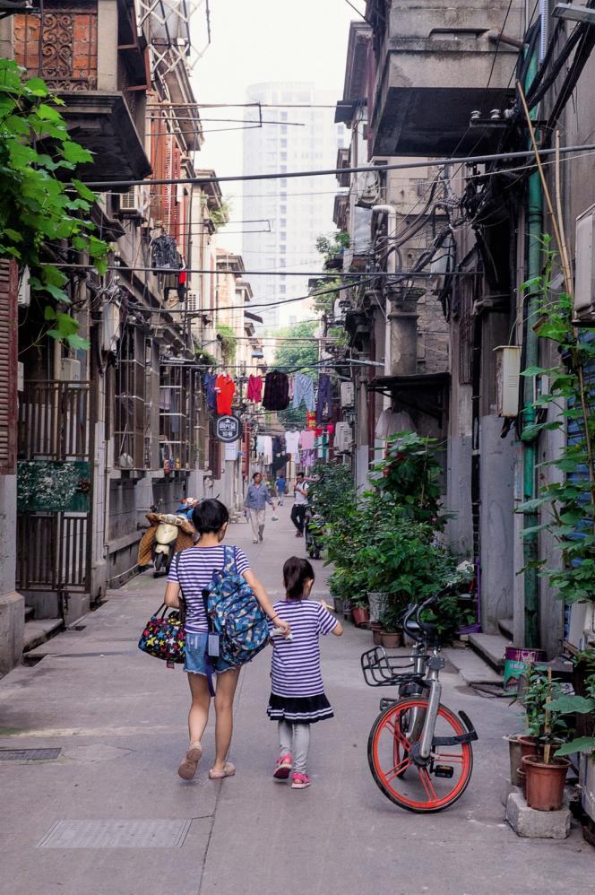 Le quartier des concessions à Wuhan.
