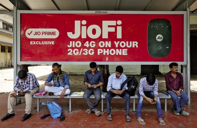 L'opérateur Jio est détenu par Mukesh Ambani, la première fortune indienne.