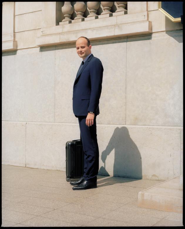 Mathieu Laine, le 25 mai à Paris.