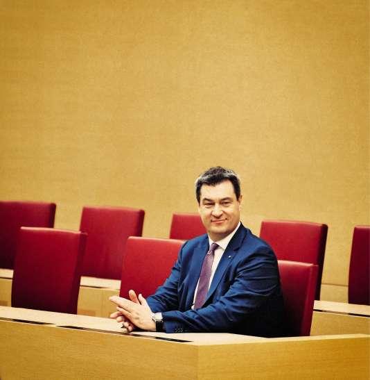 Markus Soder, ministre-présidet CSU de Bavière.