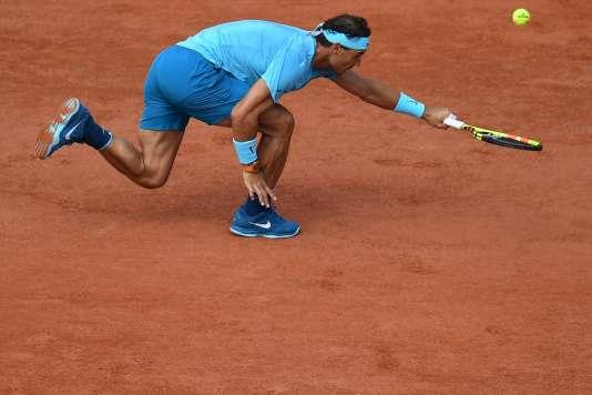 Rafael Nadal a perdu un set face à Diego Schwartzman.